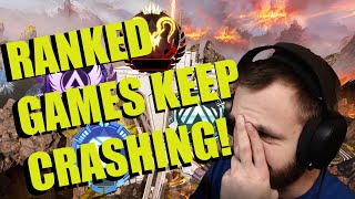 Apex Legends Keeps CRASHING! - Apex Legends Season 4