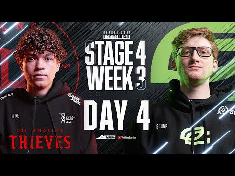 Call of Duty League 2021 Season | Stage IV Week 3 — LA Thieves Home Series | Day 4