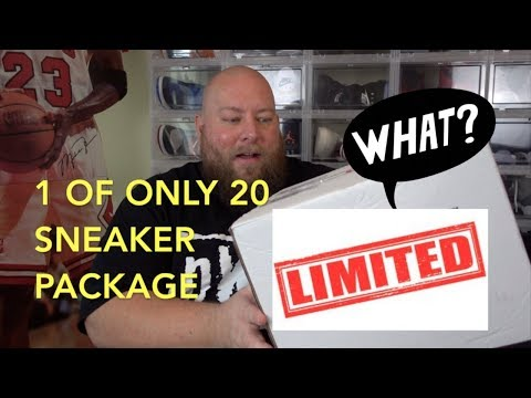 1 OF ONLY 20 LIMITED EDITION SNEAKER PACKAGE!