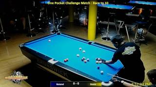 One Pocket Challenge Match : 18/01/17