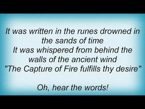 Sentenced - Capture Of Fire Lyrics