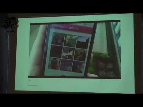 A Camera Mobile Web App @ W3C Developer Meetup - Tokyo