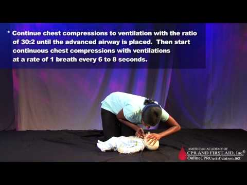 Infant CPR Training Video - How to Give CPR to an Infant