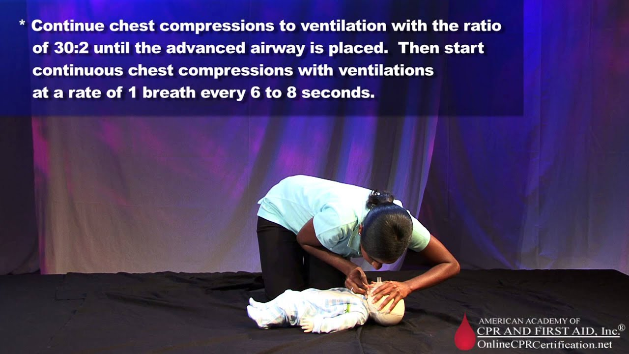 Infant Cpr Training Video How To Give Cpr To An Infant Youtube