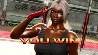 Virtua Fighter 5 Final Showdown Arcade Run: Vanessa Lewis