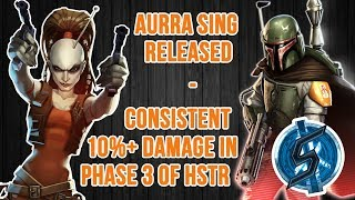 [EN] CONSISTENTLY GET 10%+ OF TRAYA IN P3 OF hSTR WITH AURRA SING! INSANE DAMAGE: OVER 800k CRITS!