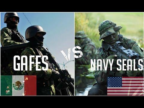 Mexico Gafes, CFE Vs Usa Navy SEALs