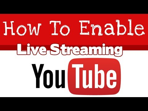 How To Enable Live Streaming On Youtube Channel - 2019
