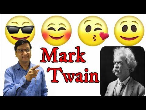 Mark Twain 2.3, 9th std., anecdotes, quotations, मराठीतूनही स्पष्टीकरण, Dharmaraj Patil