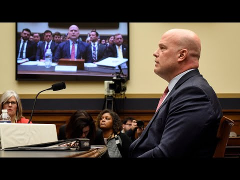 Whitaker evades Nadler: 'Your 5 minutes is up'