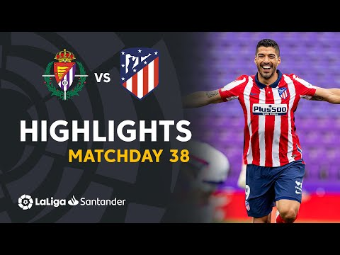 Valladolid Atletico Madrid Goals And Highlights