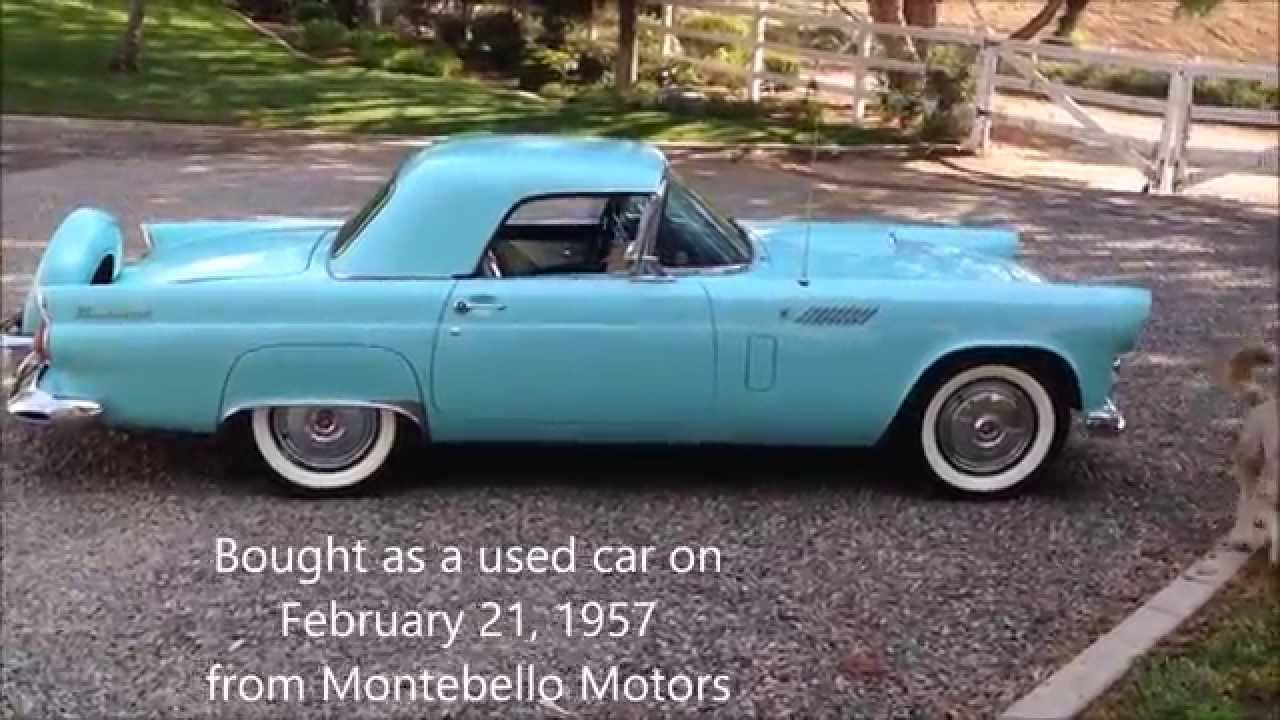 1956 ford thunderbird t bird ca black plate one owner restored 1956 ford thunderbird t bird ca black plate one owner restored sold youtube publicscrutiny Images