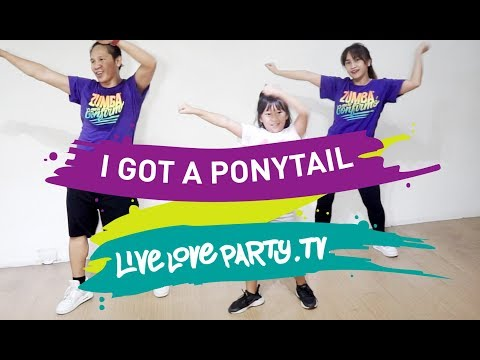 I Got A Ponytail | Live Love Party™ | Dance Fitness | Ponytail Challenge