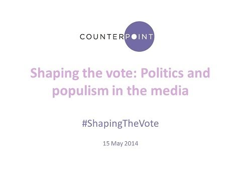 Shaping the Vote: Politics and Populism in the Media