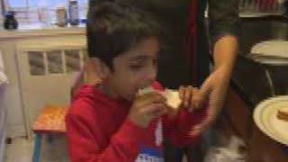 New research on milk allergies in kids