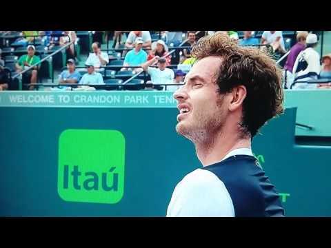 Murray hammers racket v Dmitrov