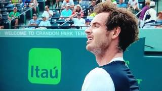 Murray hammers racket v Dmitrov