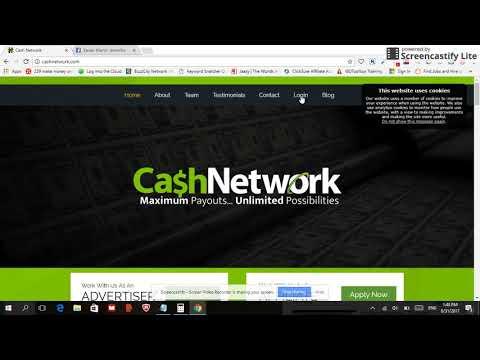 Cashnetwork (PROOF of earnings inside)