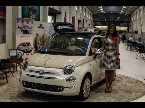 a first look at fiat 500 60th anniversary 500 mirror youtube. Black Bedroom Furniture Sets. Home Design Ideas