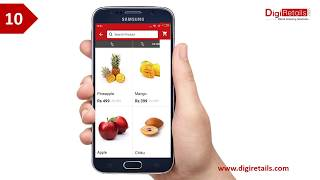 Fruits and Vegetable Store Mobile App Demo
