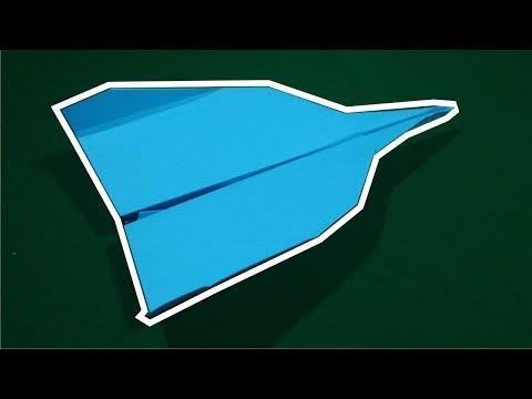 Cara Membuat Pesawat Kertas terbaik di Dunia - pesawat kertas jarak jauh