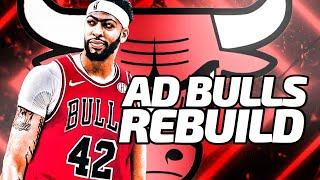 AD Comes Home! Anthony Davis Chicago Bulls Rebuild! NBA 2K20