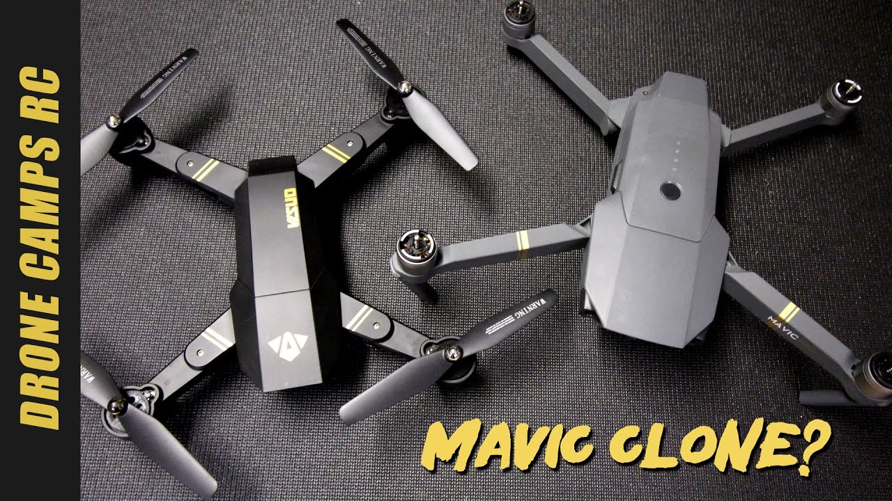 0f6dd792e4c DJI MAVIC CLONE? - TIANQU XS809W Review & Flight. Drone Camps RC