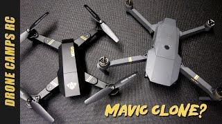 DJI MAVIC CLONE? - TIANQU XS809W Review & Flight