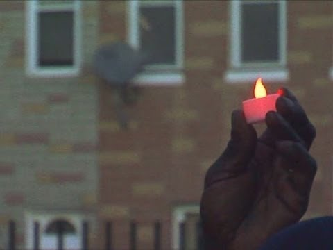Classmates, teachers remember Troy Douglas at vigil