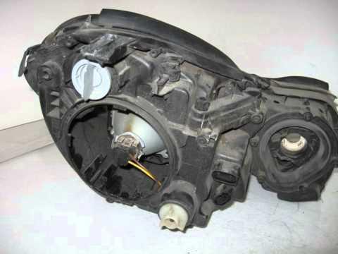 2003 Mercedes E500 Headlight / Head lamp LH NIQ BROKEN TABS C PART - mbiparts.com Used OEM Me... OEM