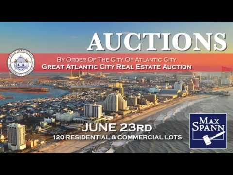 Great Atlantic City Sealed Bid Real Estate Auction
