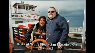 Red and white fleet San Francisco Boat Ride, with Fiance!