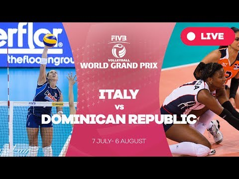 Italy v Dominican Republic - Group 1: 2017 FIVB Volleyball World Grand Prix