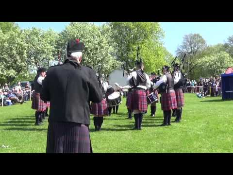 Matt Boyd Memorial Pipe Band @ Ards & North Down Pipe Band Championships 2016
