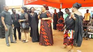 Vivian Jill, mercy Aseidu, Matilda Asare and others looking awesome in their funeral outfits