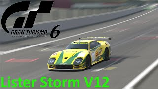GRAN TURISMO 6 [HD] Car Check #011 Lister Storm V12 Race Car