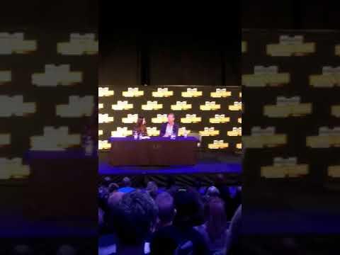 Iain Glen (Jorah Mormont from Game of Thrones) ComicCon Stockholm 2017
