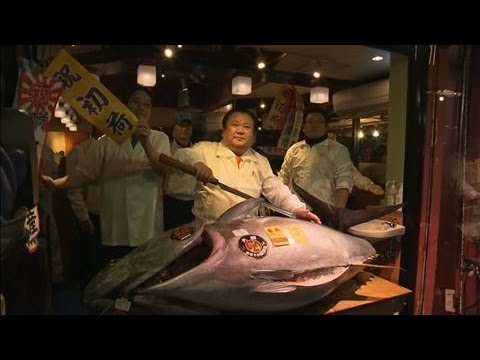 Tuna Nets $632,000 at Annual Japanese Auction