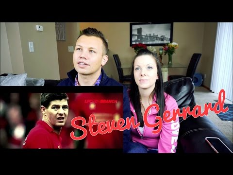 Steven Gerrard - The End | Couple Reacts