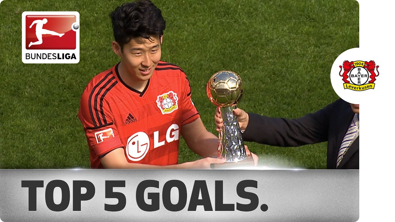 Heung min son top 5 goals 2014 15 youtube for Son heung min squadre attuali