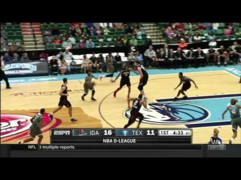 Pat Miller Texas Legends Highlights 2015-16