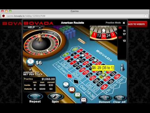 Bovada roulette review materiel table de poker