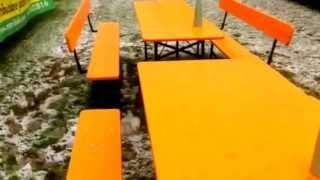 Panche e tavoli pieghevoli MM Italia Group