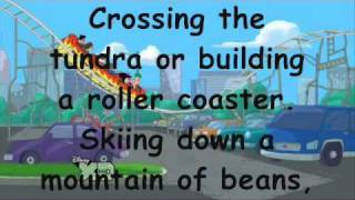 Phineas and Ferb Theme song (full with lyrics)