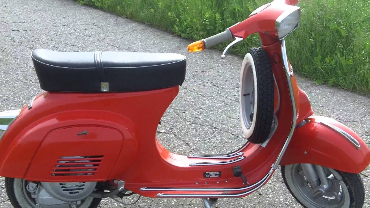 vespa 50 n 1976 youtube