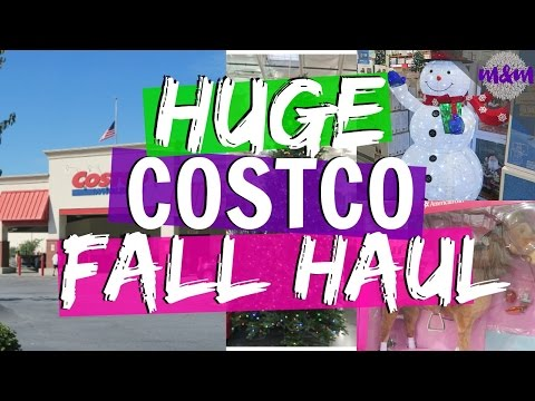 Costco Haul Oct 2016