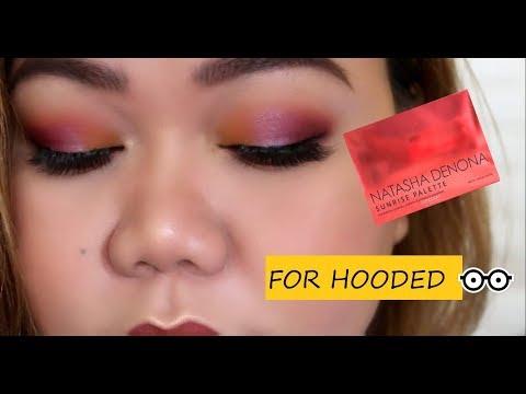 makeup-tutorial-for-hooded-eyes-using-natasha-denona-sunrise-palette