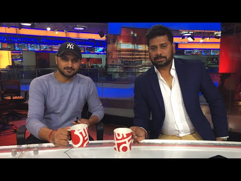 'Host' Harbhajan Previews Pune ODI! | Sports Tak