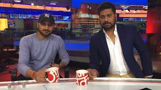 'Host' Harbhajan Previews Pune ODI! | Sports Tak