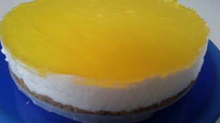 Como hacer tarta de mousse de limon